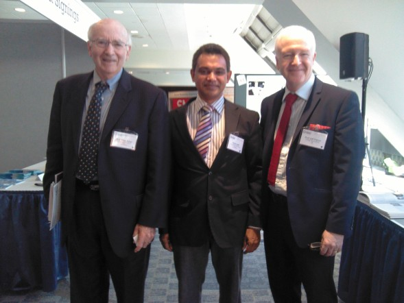 Prof. Philip Kotler, Shiraz Latiff and Prof. Jeff French at World Social Marketing Conference 2013.