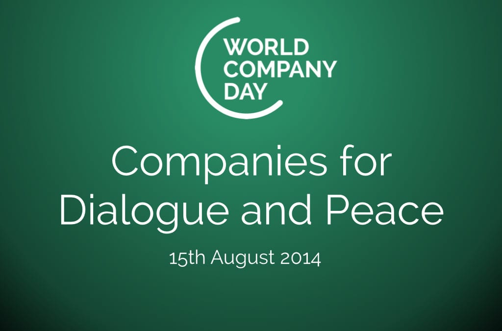 Companies for Dialogue and Peace – Statement on 2nd World Company Day