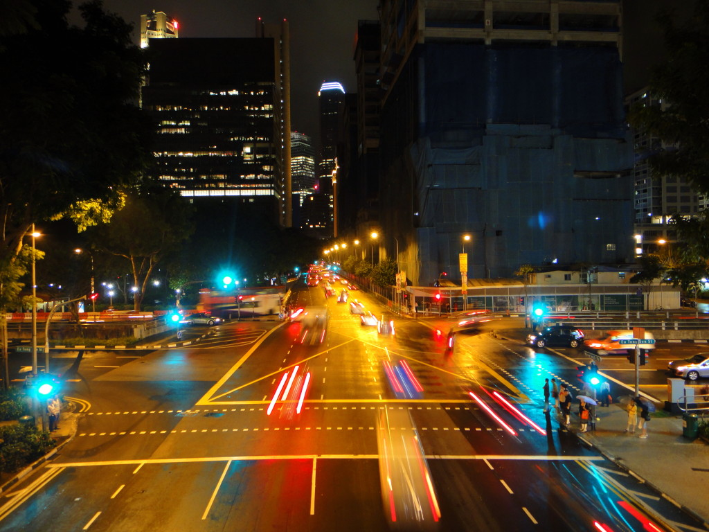The energy from cars driving on roads with EEP technology installed can power the street lamps and traffic lights.