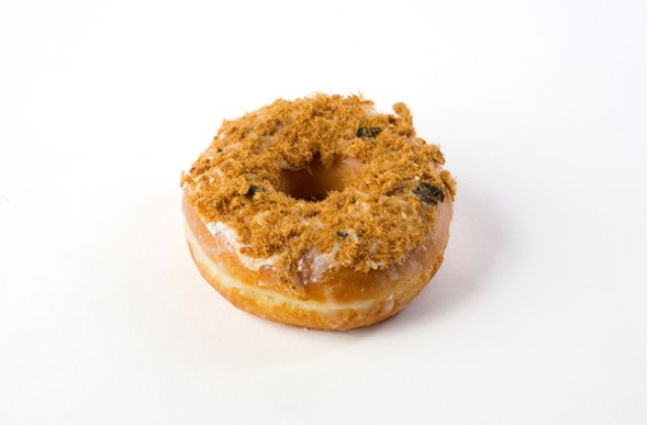 Dunkin' Donuts has a Dry Pork and Seaweed version available in their China outlets. PHOTO: DUNKIN' DONUTS