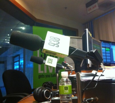 Interview on 93.8 Live: Design at the heart of Business