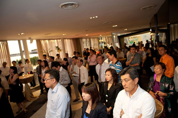 Nearly a hundred guests were invited to the Cyclect's official launch.