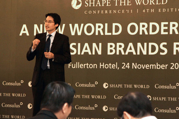 Lawrence Chong to speak at the 21st World Brand Congress