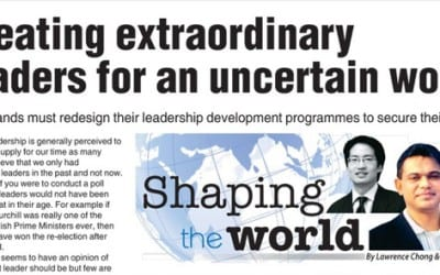 How to get extraordinary leaders for an uncertain world