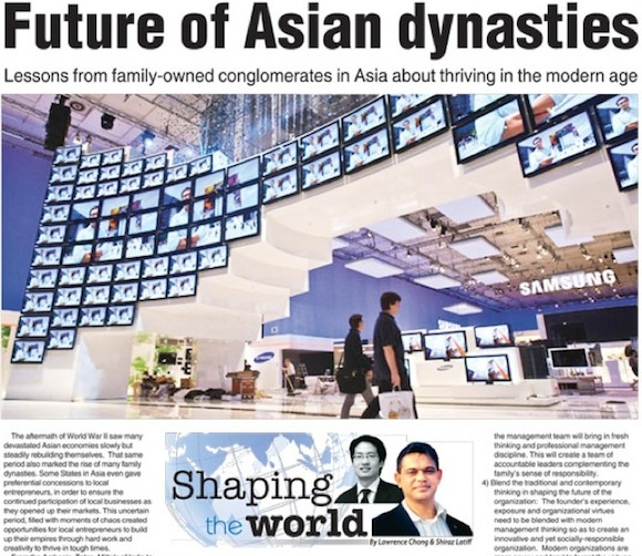 Future of Asian Dynasties