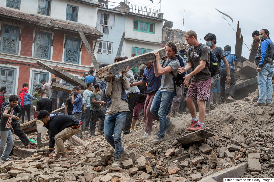 The human spirit rises above the rubble: A Nepali experience