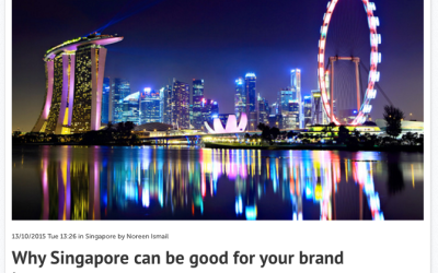 Why Singapore can be good for your brand image – Consulus comments on Marketing Magazine