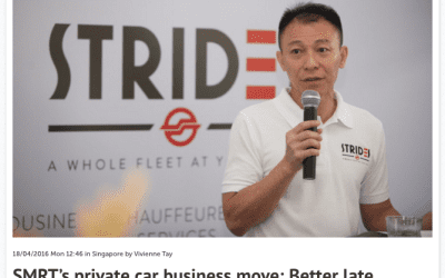 SMRT's private car business move: Better late than never? – Consulus comments on Marketing Magazine