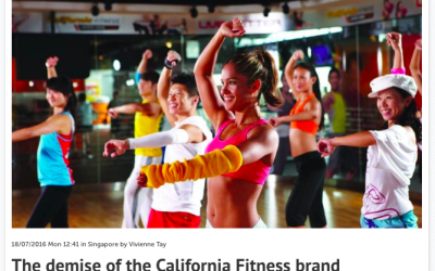 The demise of the California Fitness brand – Consulus comments on Marketing Magazine
