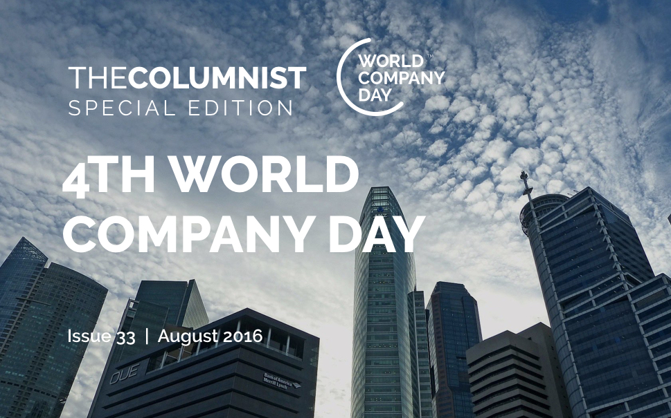 The Columnist | Issue 33 | Special Edition: Celebrating World Company Day