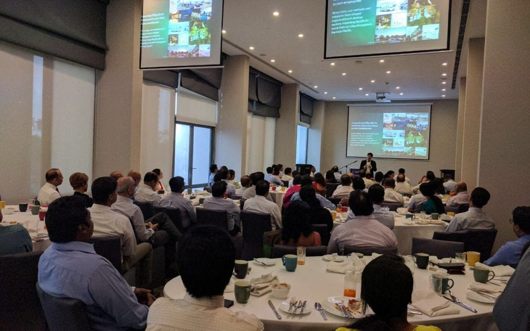 CEO of Consulus shared insights at CEO's Breakfast Forum in Sri Lanka