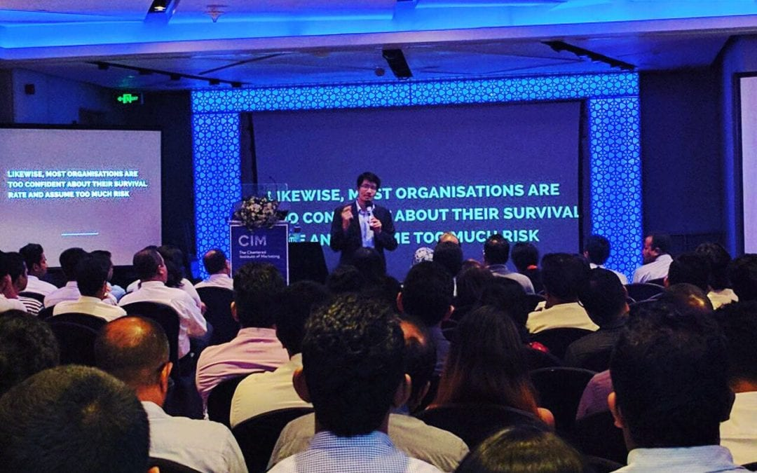 "CEO of Consulus spoke at the ""Marketing in the Age of Design and Disruption"" in Sri Lanka"