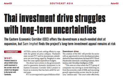 Thai investment drive struggles with long-term uncertainties – Consulus comments on NewsBase