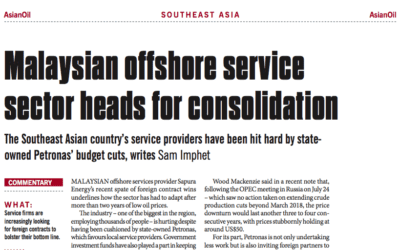 Malaysian offshore service sector heads for consolidation: Consulus comments on NewsBase