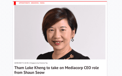 Tham Loke Kheng to take on Mediacorp CEO role from Shaun Seow: Consulus comments on Marketing Interactive