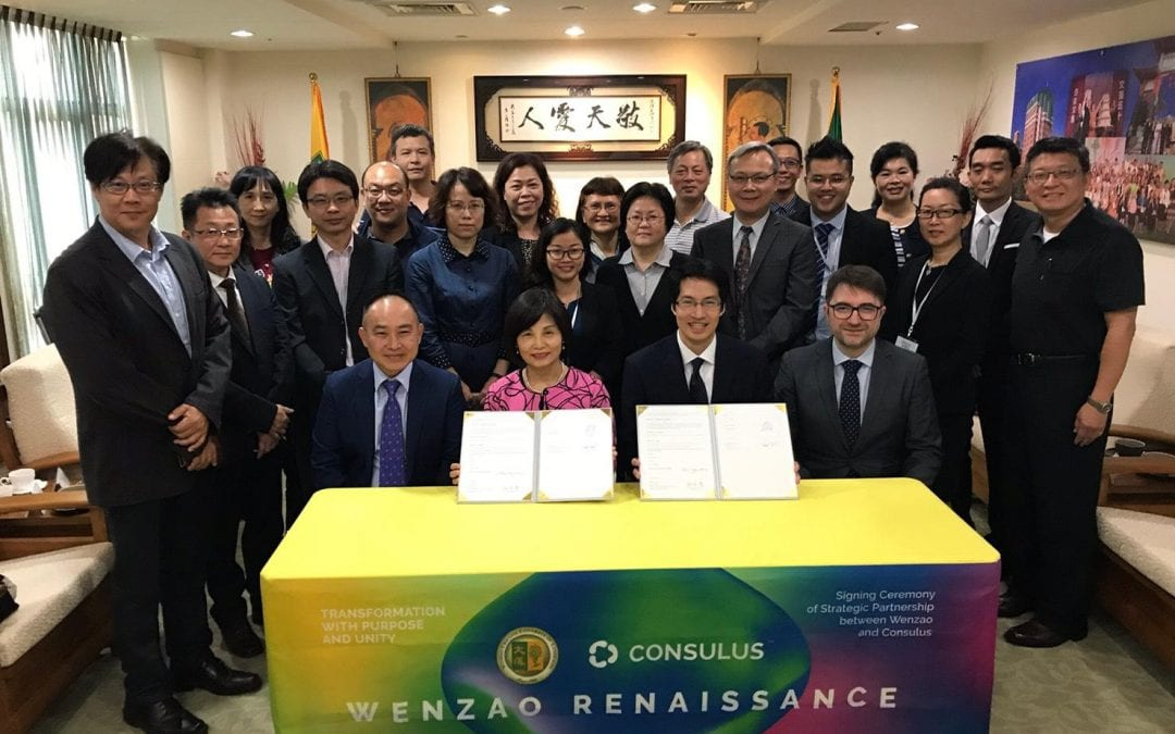 Wenzao and Consulus Signs Strategic Partnership for Globalization 4.0