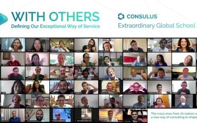 Consulus has conducted the Extraordinary Global School 2020, titled: With Others – Defining our Exceptional Way of Service, which brought together over 56 members from 20 countries online to discuss new solutions and methods of engagement for the post COVID-19 world.